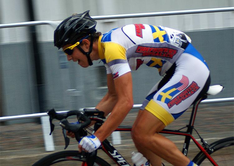 Fransmannen Pierre Moncorgé är en av tre cyklister som byter från Team Firefighters Upsala CK till Team Bliz-Merida -