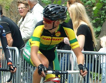 Alexandra Nessmar är en av tre svenskor i danska Team BMS BIRN 2015. -