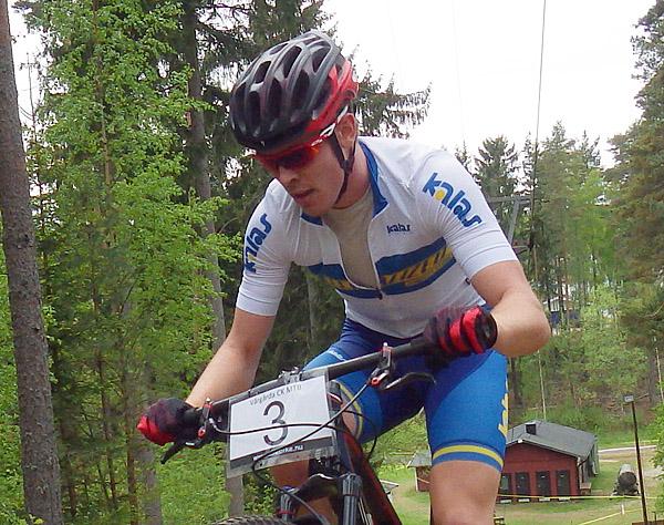 Axel Lindh (arkivbild) från Härnösand vann på hemmabanan - Foto: Dennis Nystrand