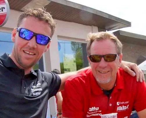 Fredrik Lindström (t.v.) och Mats Höllgren kommer att jobba tillsammas som sportdirektörer i Team Argon18 Scandinavia kommande säsong -