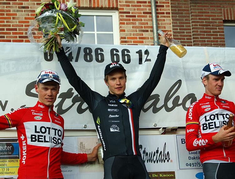 Matti Manninen efter seger på InterClub-avslutningen i Belgiska Meerhout -