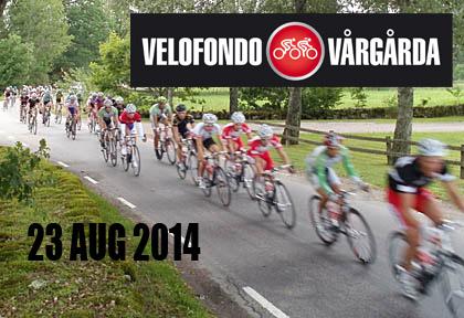 Nu kan du vinna två startplatser till Velofondo Vårgårda den 23 augusti 2014. Klicka och fyll i formulärets så är du med i utlottningen. -