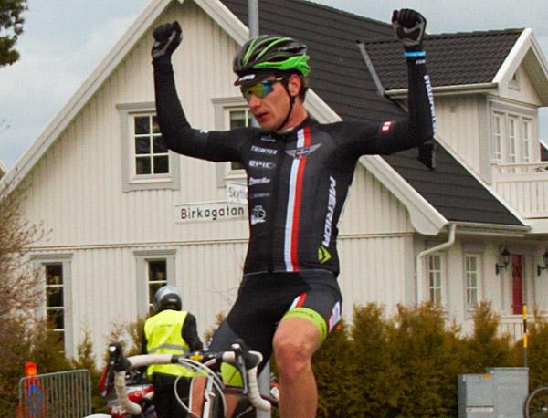 Yannick Janssen vann den svenska säsongspremiären och har därefter samlat flera meriterande segrar under årets säsong - Foto: Dennis Nystrand