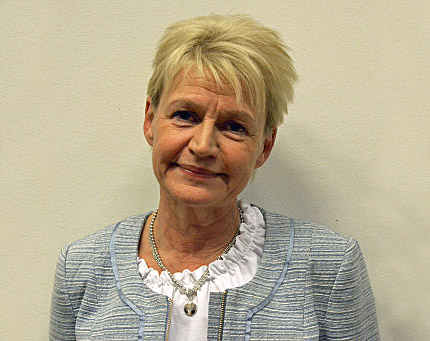 Sittande ordförande Yvonne Mattsson -